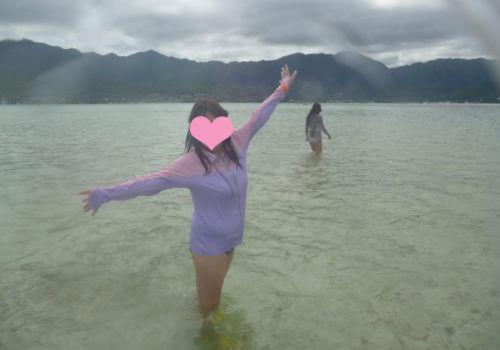 天国の海ツアー
